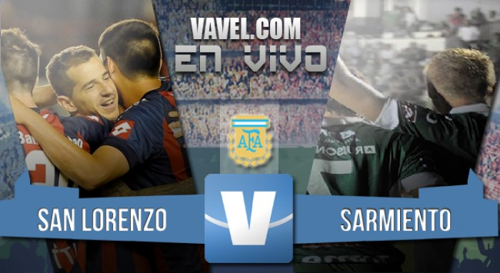 Resultado partido San Lorenzo 2-1 Sarmiento en el Torneo de Transición 2016