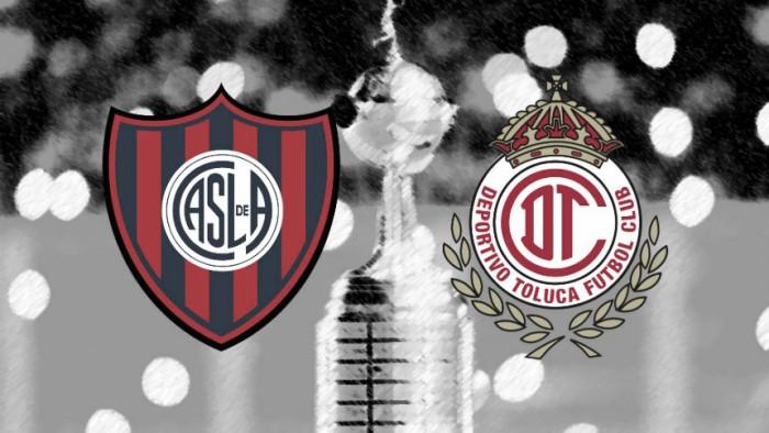 Resultado San Lorenzo - Toluca por la Copa Libertadores (1-1)