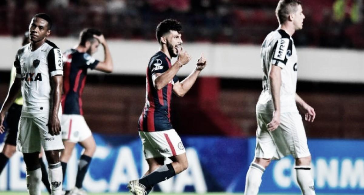 San Lorenzo derrota por la mínima a Atlético Mineiro