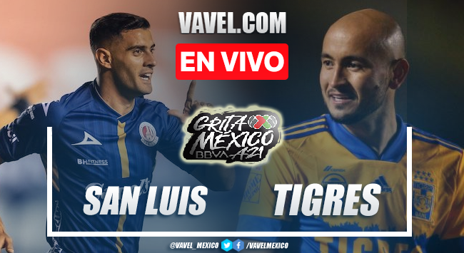 Goles y resumen Atlético de San Luis 0-3 Tigres en Liga MX 2021