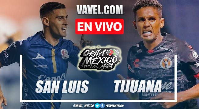 Goles y resumen del Atlético San Luis 4-1 Xolos Tijuana en Liga MX 2021