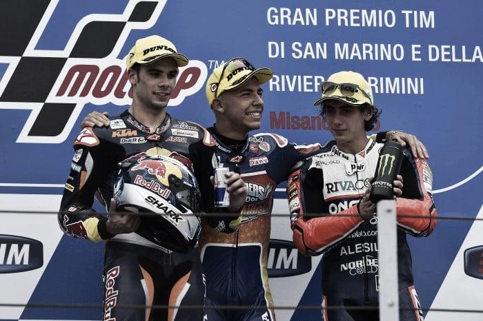 Vuelta al 2015. GP de San Marino: Bastianini se lleva una victoria soñada