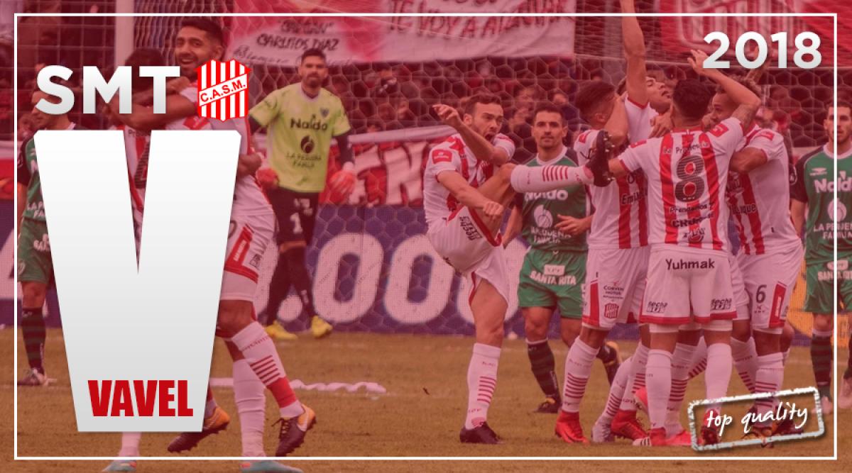Guía San Martín de Tucumán Superliga 2018/19: ansiado regreso a primera