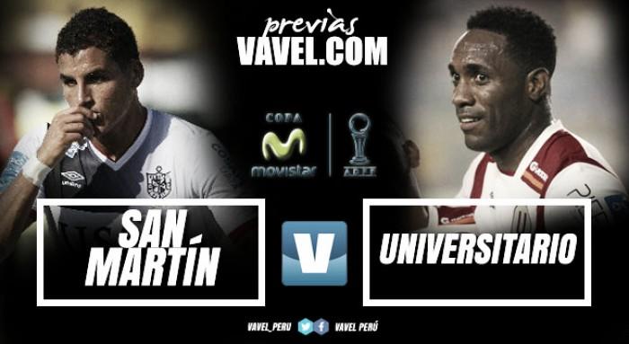 Previa San Martín -Universitario: Al Callao con la moral nuevamente en alto