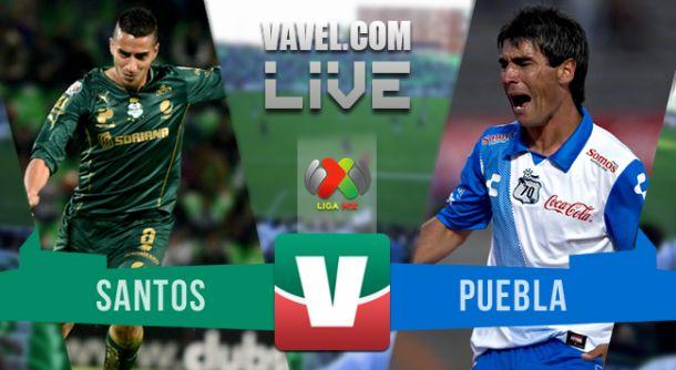Resultado Santos Laguna - Puebla en Liga MX 2015 (2-2)