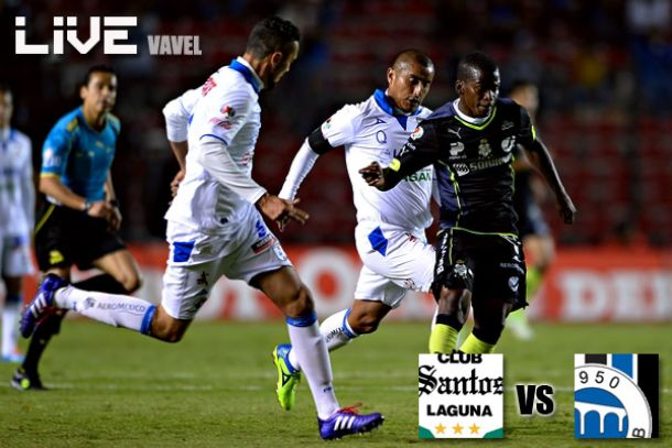 Resultado Santos - Querétaro en Liga MX 2014 (2-3)