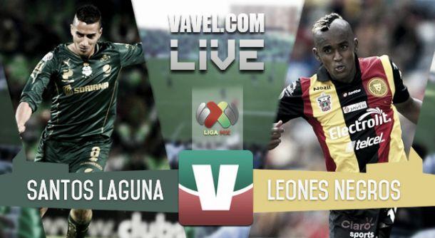 Resultado Santos Laguna - Leones Negros en Liga MX 2015 (1-0)