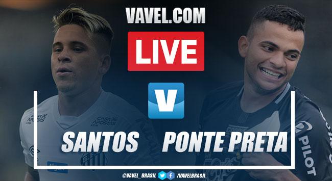 Gols e melhores momentos de Santos 1 x 3 Ponte Preta pelo Campeonato Paulista 2020