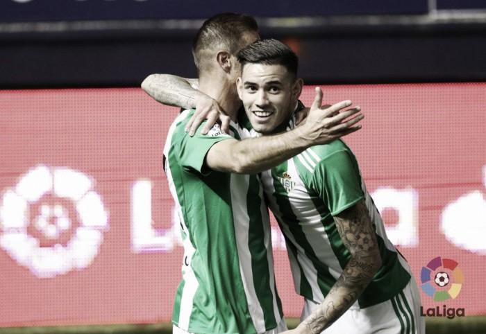 CA Osasuna – Real Betis: puntuaciones del Real Betis, novena jornada de la Liga