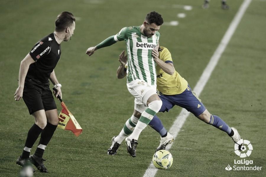 Real Betis Balompié - Cádiz: puntuaciones del Real Betis, 15ª jornada de LaLiga Santander