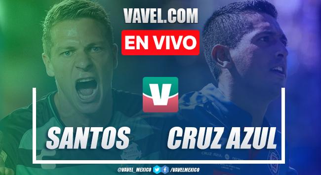 Resumen y goles: Santos 3-1 Cruz Azul en Liga MX Apertura 2019