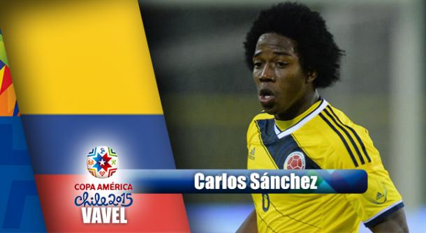 Camino a Chile 2015: Carlos Sánchez