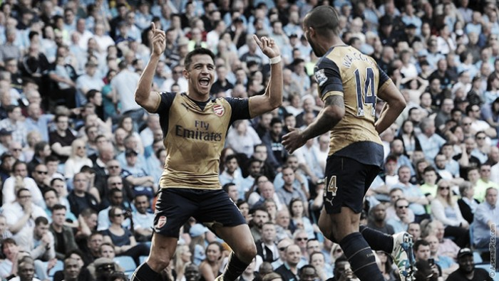 Manchester City 2-2 Arsenal: Gunners comeback twice to all but seal Champions League place