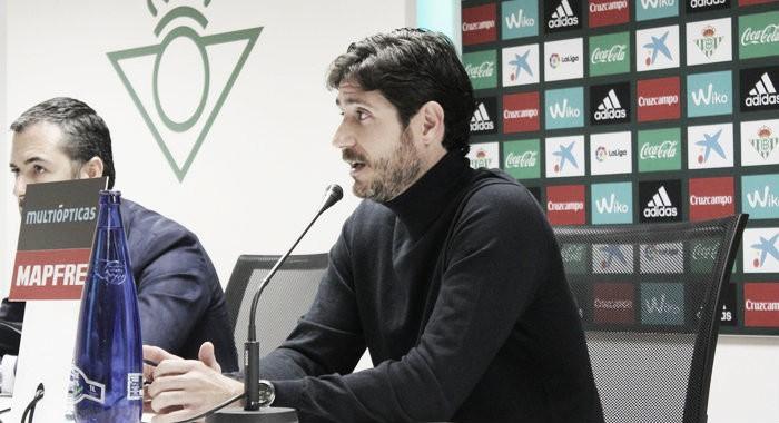 """Víctor Sánchez del Amo: """"Vamos a Eibar para traernos tres puntos"""""""
