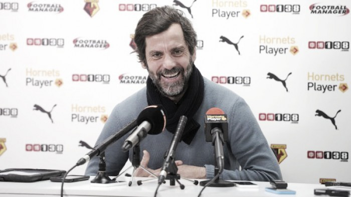 """Sanchez Flores is """"excited"""" to be back at Vicarage Road"""