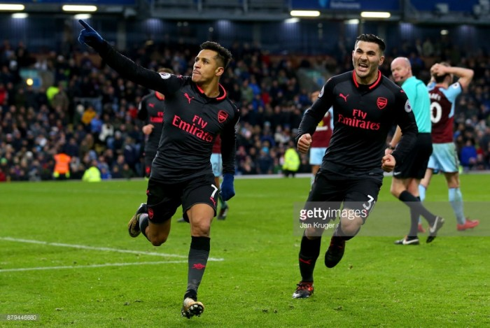 Burnley 0-1 Arsenal: Late Alexis Sanchez penalty moves Gunners into top four