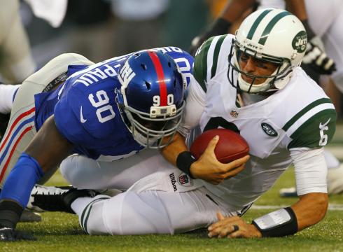 Los Jets, sin ofensiva, no son impedimento para que los Giants conquisten el MetLife Bowl