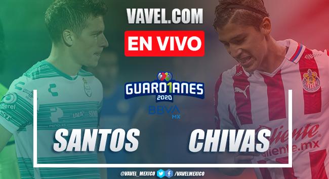 Goles y Resumen: Santos Laguna 2-0 Chivas en Liga MX 2020