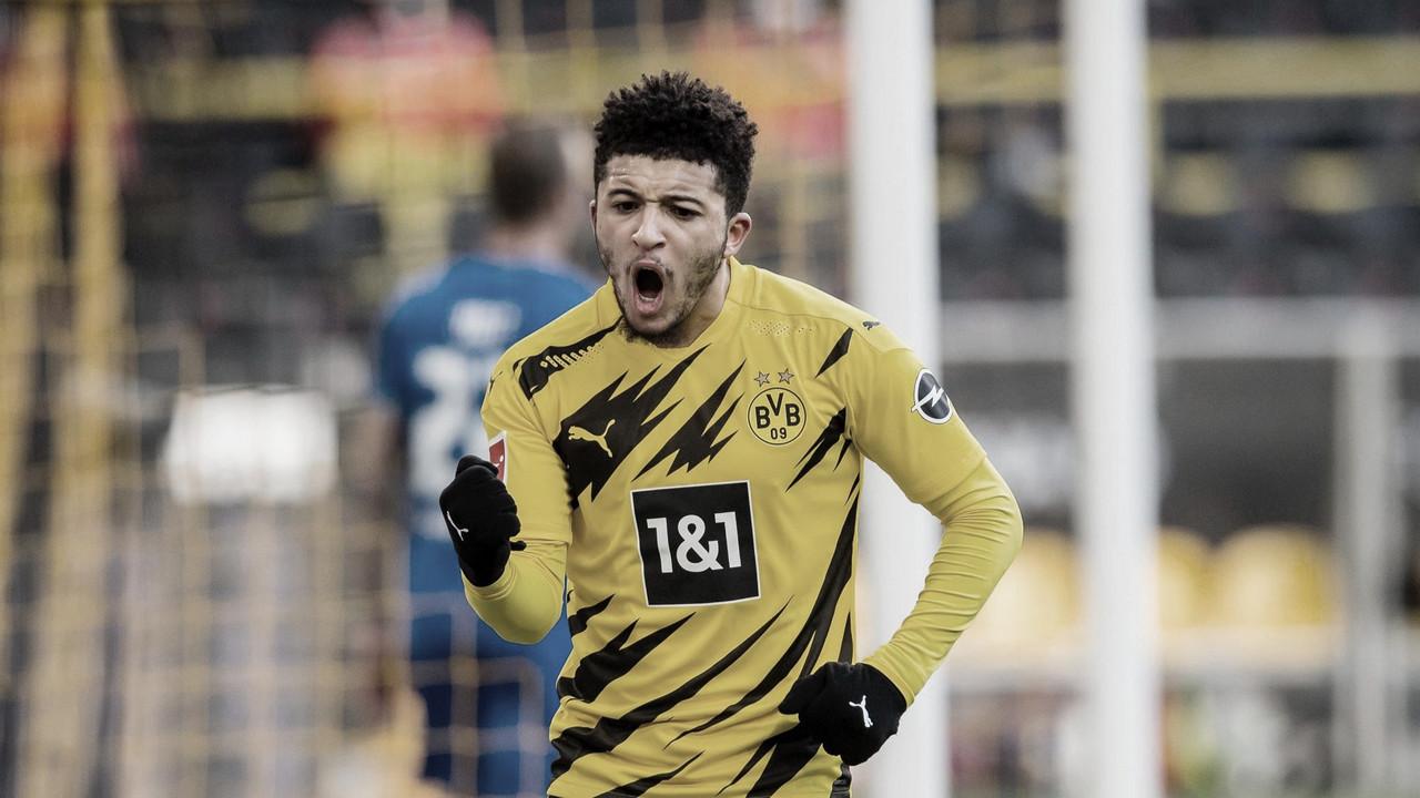 Borussia Dortmund empata com Hoffenheim e se afasta do G-4 da Bundesliga