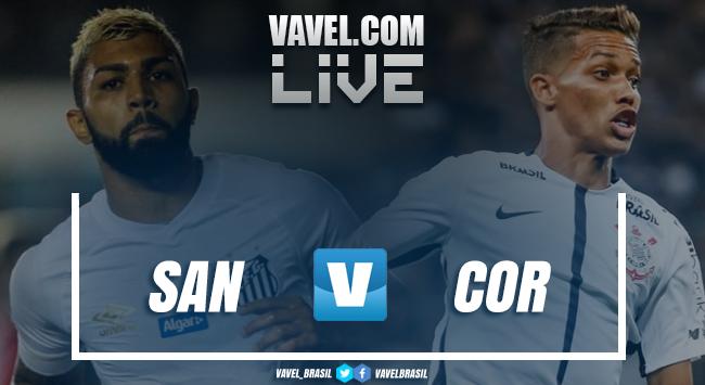 Resultado Santos x Corinthians Campeonato Brasileiro (1-0)