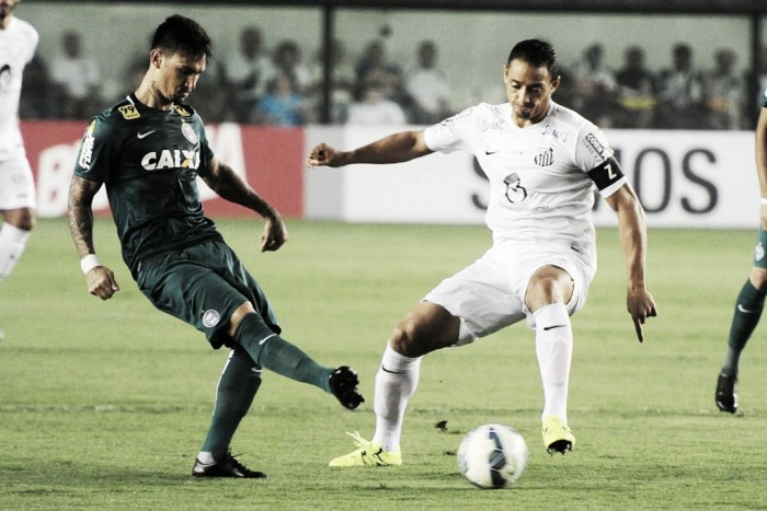 Visando distanciar do Z-4, Coritiba recebe motivado Santos no Couto Pereira