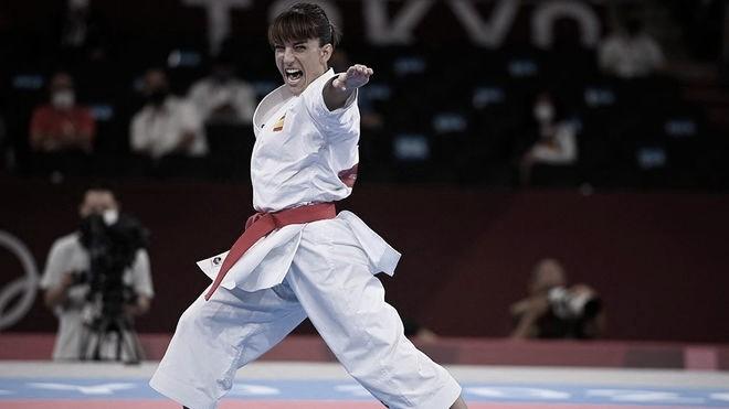 Sandra Sánchez logra el oro en el debut olímpico de la kata