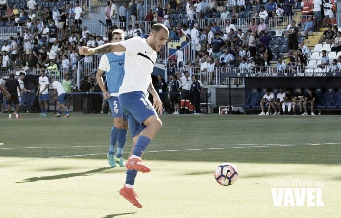 """Sandro: ''La afición del Málaga me sigue sorprendiendo, es una de las mejores de La Liga y de España""""."""