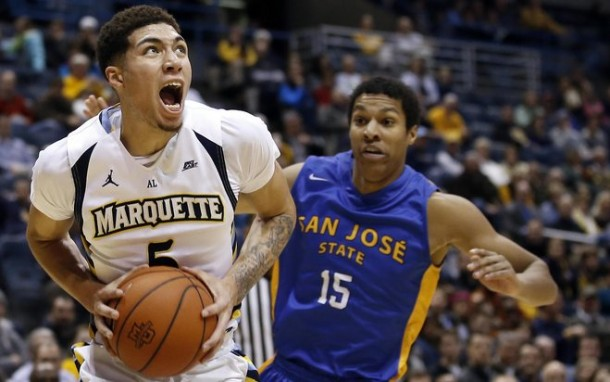 Marquette Golden Eagles Hold Off San Jose State Spartans 80-62