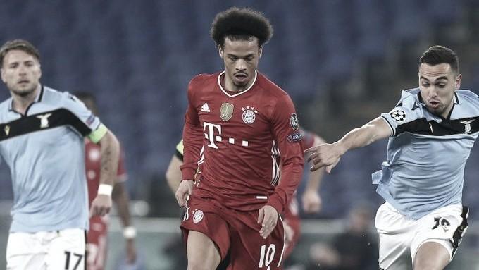 Sané fala de postura convicta do Bayern contra a Lazio