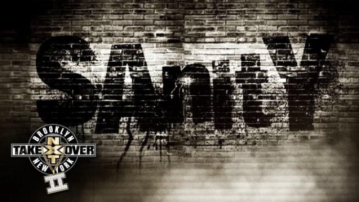 Sanity debuts at NXT tapings