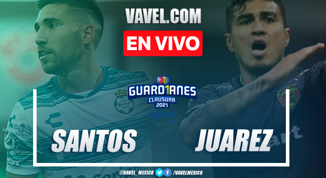 Resumen y Goles del Santos 3-2 Juárez en la jornada 8 del Guard1anes 2021