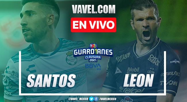 Resumen y goles: Santos Laguna 1-2 León en Guard1anes 2021 Liga MX
