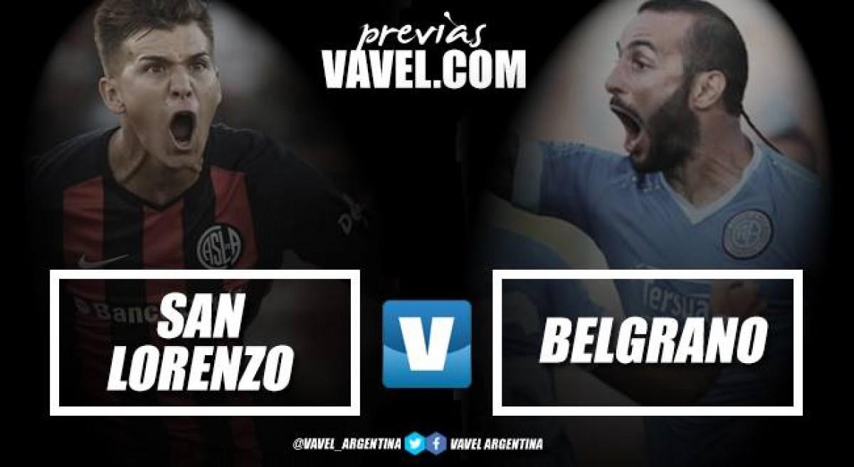 Previa San Lorenzo - Belgrano: para seguir de racha