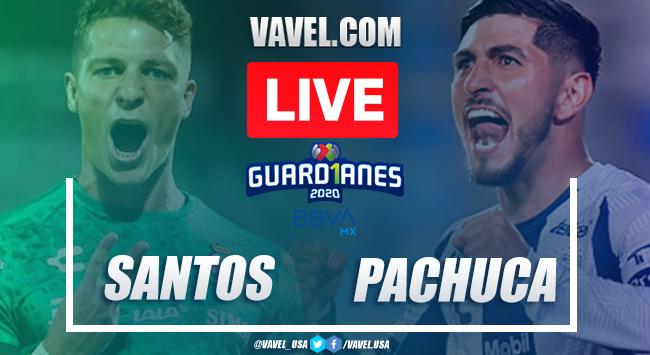 Goals and Highlights: Santos 0-3 Pachuca in Repechaje Liga MX 2020