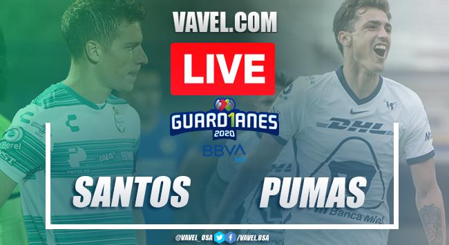 Goals and highlights: Santos 1-2 Pumas in 2020 Liga MX Guard1anes