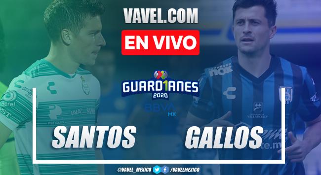 Goles y resumen: Santos 2-1 Querétaro en Liga MX Guard1anes 2020