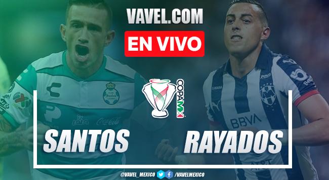 Resumen y goles: Santos 0 - 0 Monterrey en Copa MX 2020