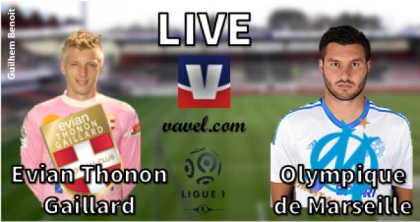 Live Ligue 1 : Évian Thonon Gaillard vs Olympique de Marseille, en direct