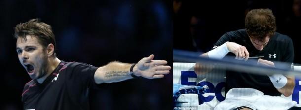 Wawrinka se relance, Nadal décoiffe Murray