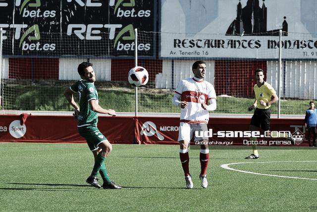 Sanse 0-1 Rápido de Bouzas: a rebufo de los playoffS