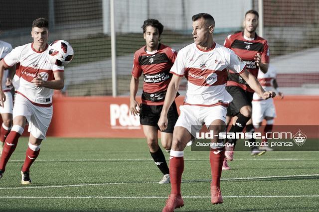 """Sanse 1-1 Celta de Vigo """"B"""": igualdad con viento y sol"""