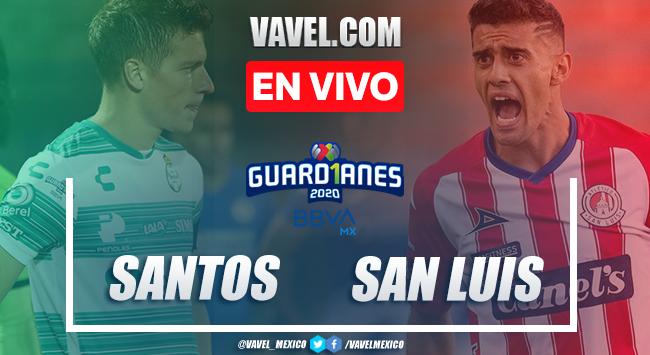 Goles y Resumen: Santos 2-1 Atlético San Luis en Liga MX 2020