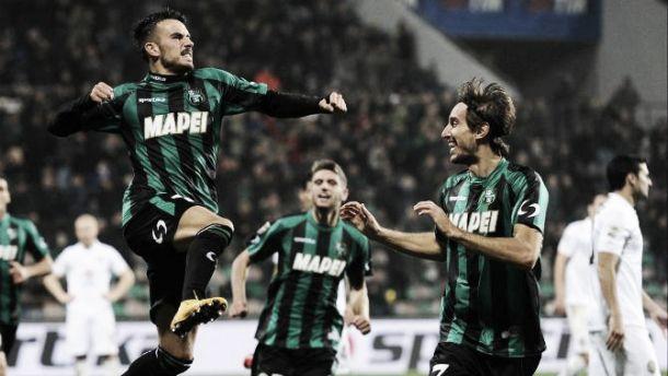 Il Sassuolo non si ferma più, battuto 2-1 il Verona
