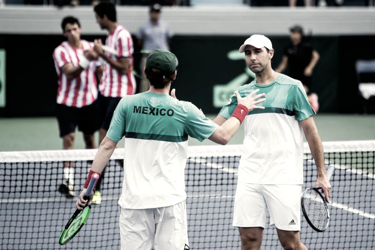 Mexicanos en la catedral del Tennis