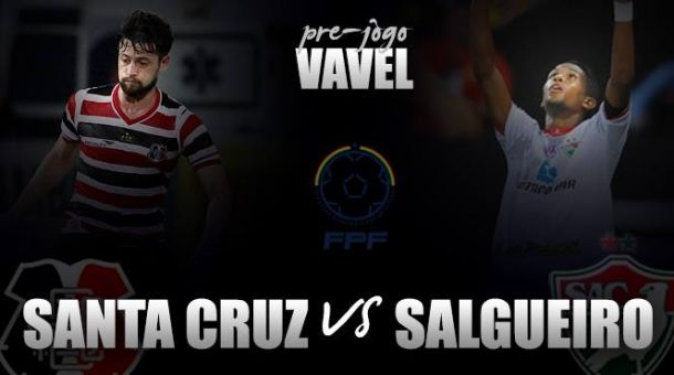 Após empate na primeira partida, Santa Cruz e Salgueiro decidem Campeonato Pernambucano