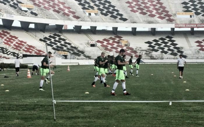 Sem Milton Mendes, auxiliar técnico esboça Santa Cruz para jogo diante do Santos