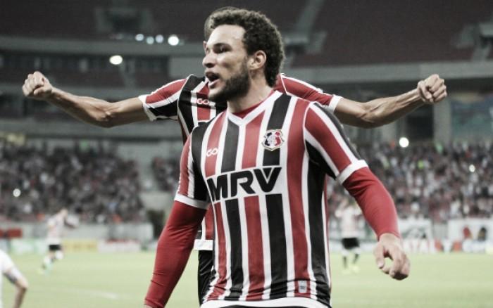 Santa Cruz bate Vila Nova e chega ao quarto jogo sem perder na Série B