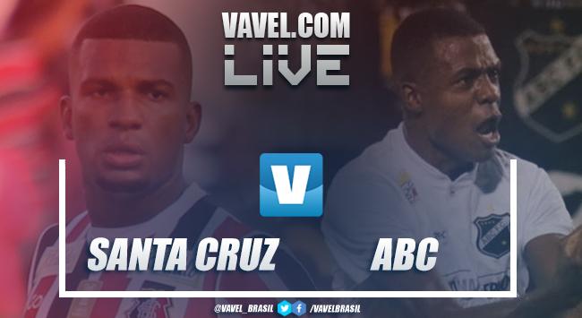 Resultado e gols Santa Cruz x ABC pela Copa do Brasil 2019 (3-0)