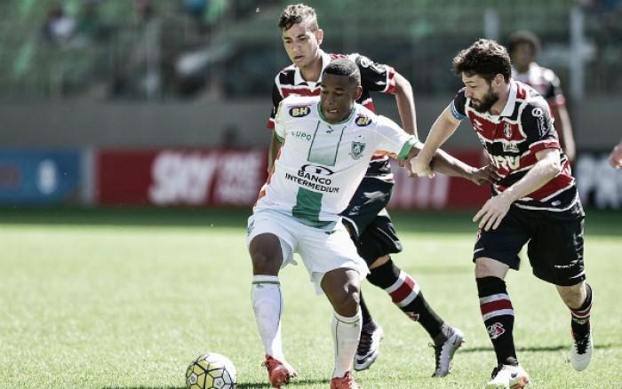 Resultado Santa Cruz x América-MG no Campeonato Brasileiro 2016 (1-0)