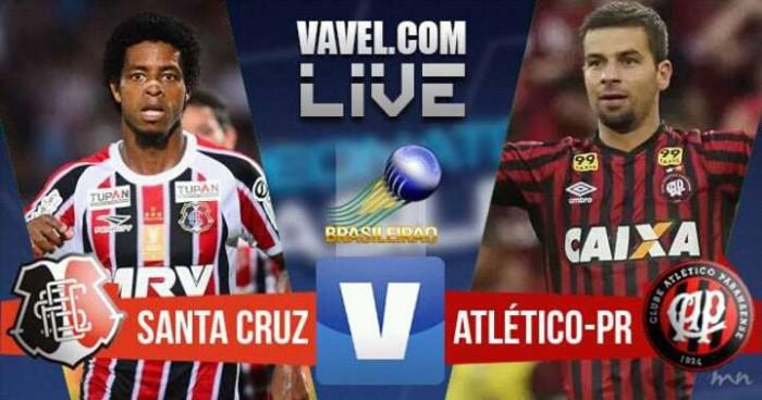 Resultado Santa Cruz x Atlético-PR no Campeonato Brasileiro 2016 (1-0)